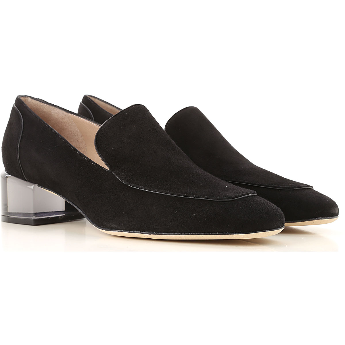 Stuart Weitzman Loafers for Women Black SE - GOOFASH