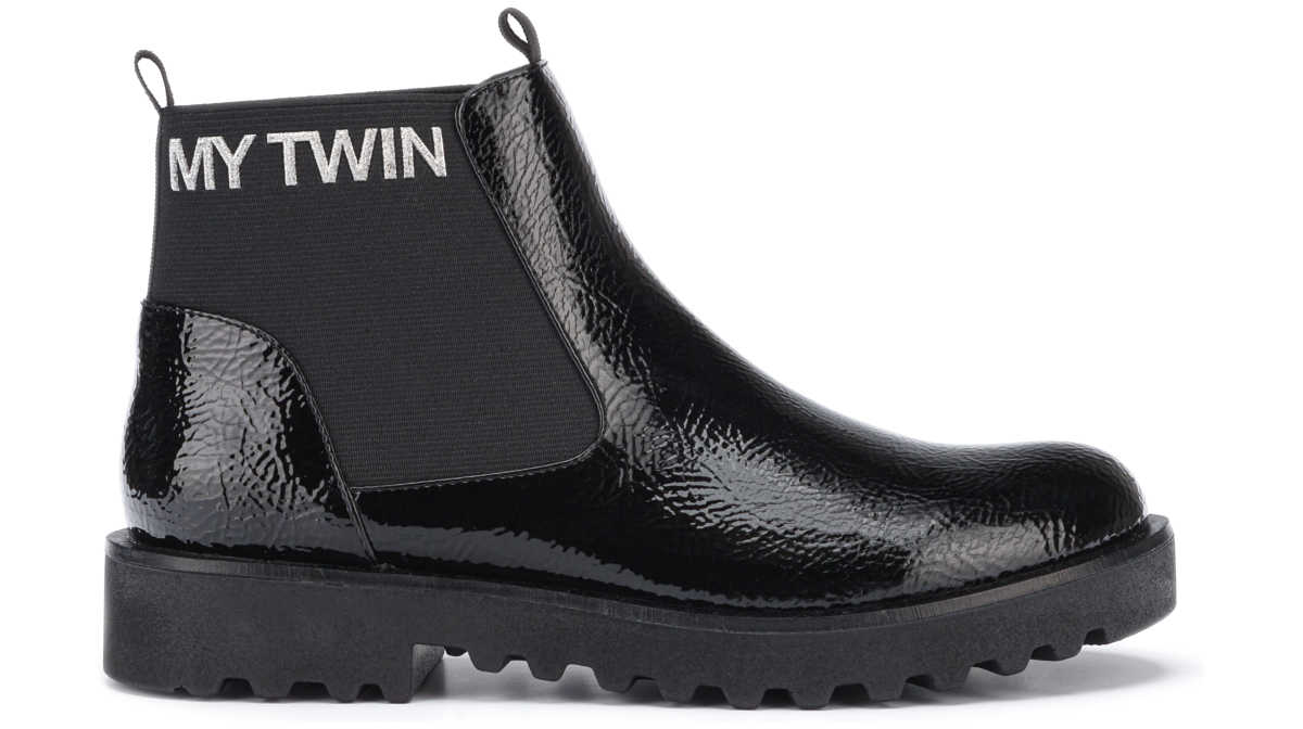 TWINSET Ankle boots Black UK - GOOFASH