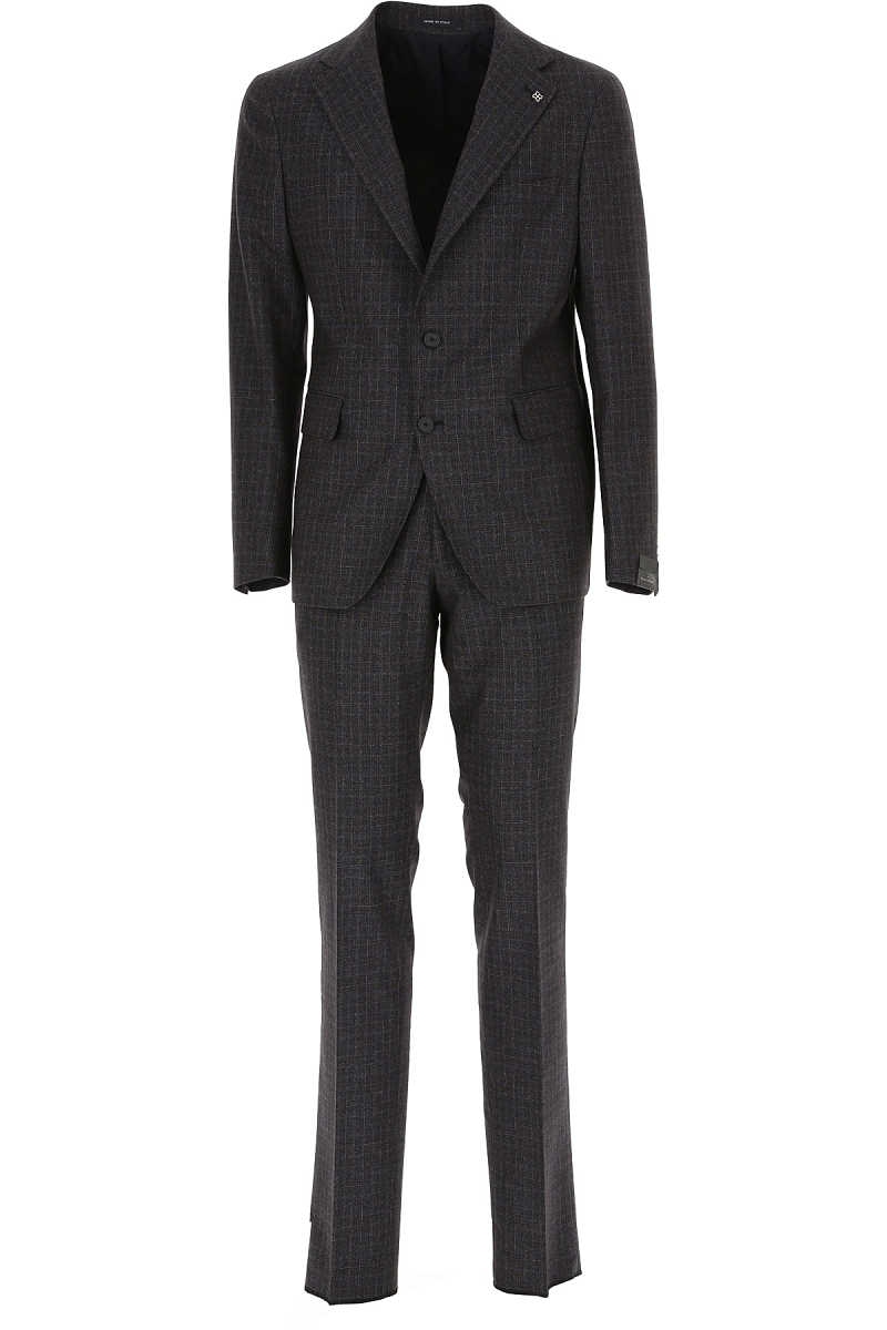 Tagliatore Men's Suit Blue SE - GOOFASH