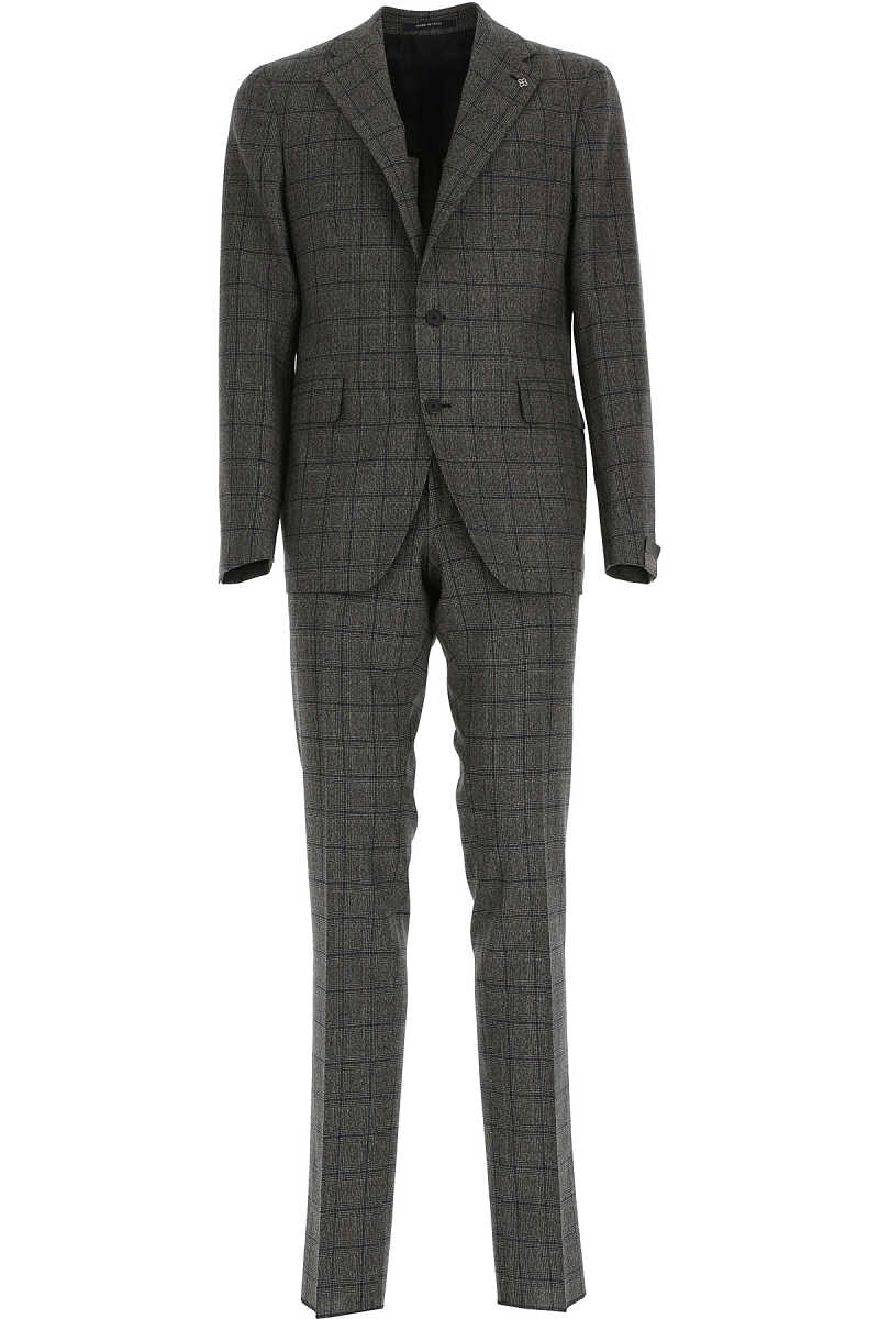 Tagliatore Men's Suit Grey SE - GOOFASH