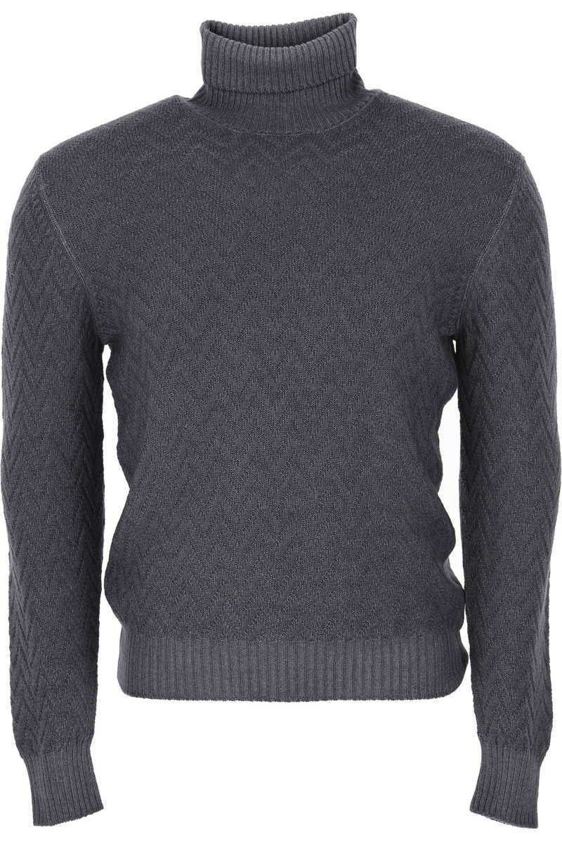Tagliatore Sweater for Men Jumper in Outlet Grey USA - GOOFASH