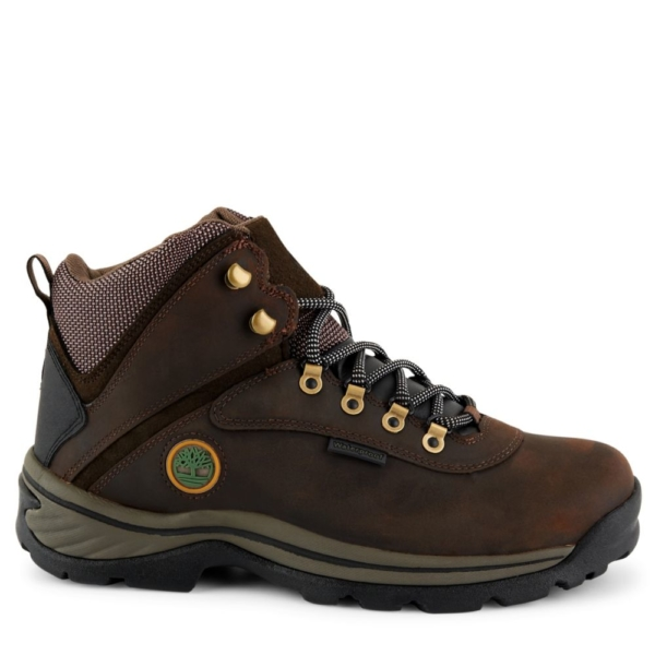 Timberland Mens White Ledge Brown USA - GOOFASH - Mens BOOTS