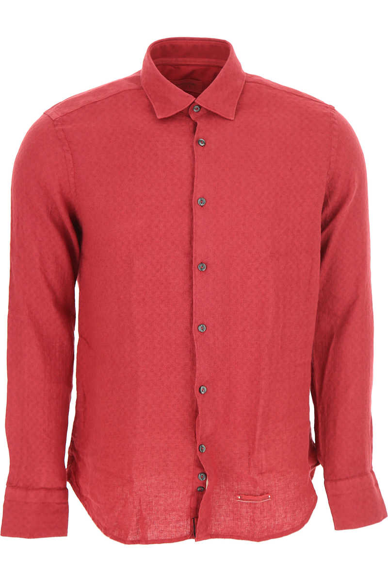 Tintoria Mattei 954 Shirt for Men On Sale Red SE - GOOFASH