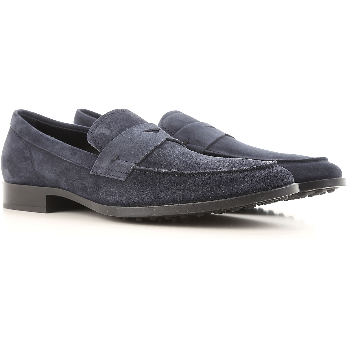 Tods Loafers for Men Midnight Blue SE - GOOFASH