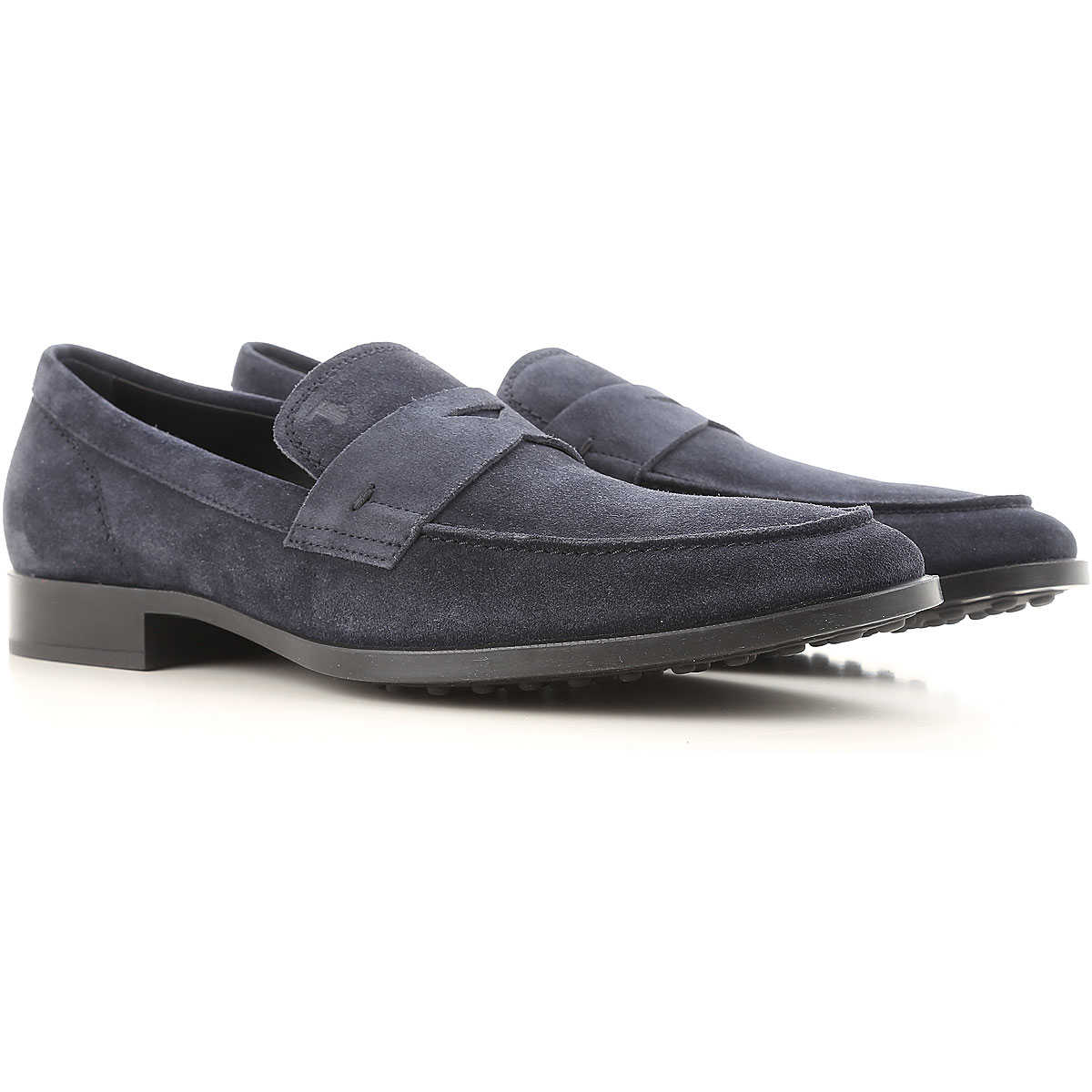 Tods Loafers for Men Midnight Blue USA - GOOFASH