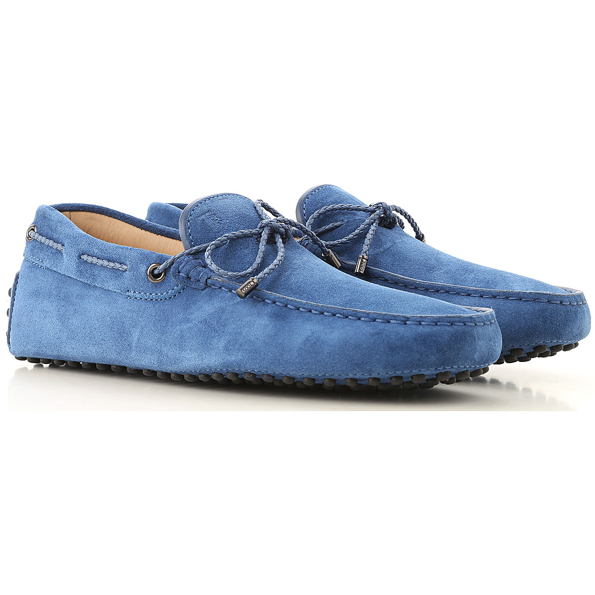 Tods Loafers for Men On Sale Bright Bluette SE - GOOFASH