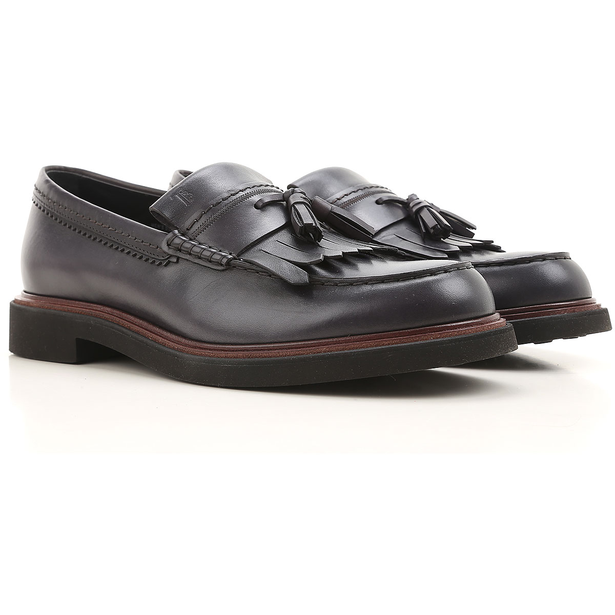 Tods Loafers for Men On Sale in Outlet smoked Grey SE - GOOFASH