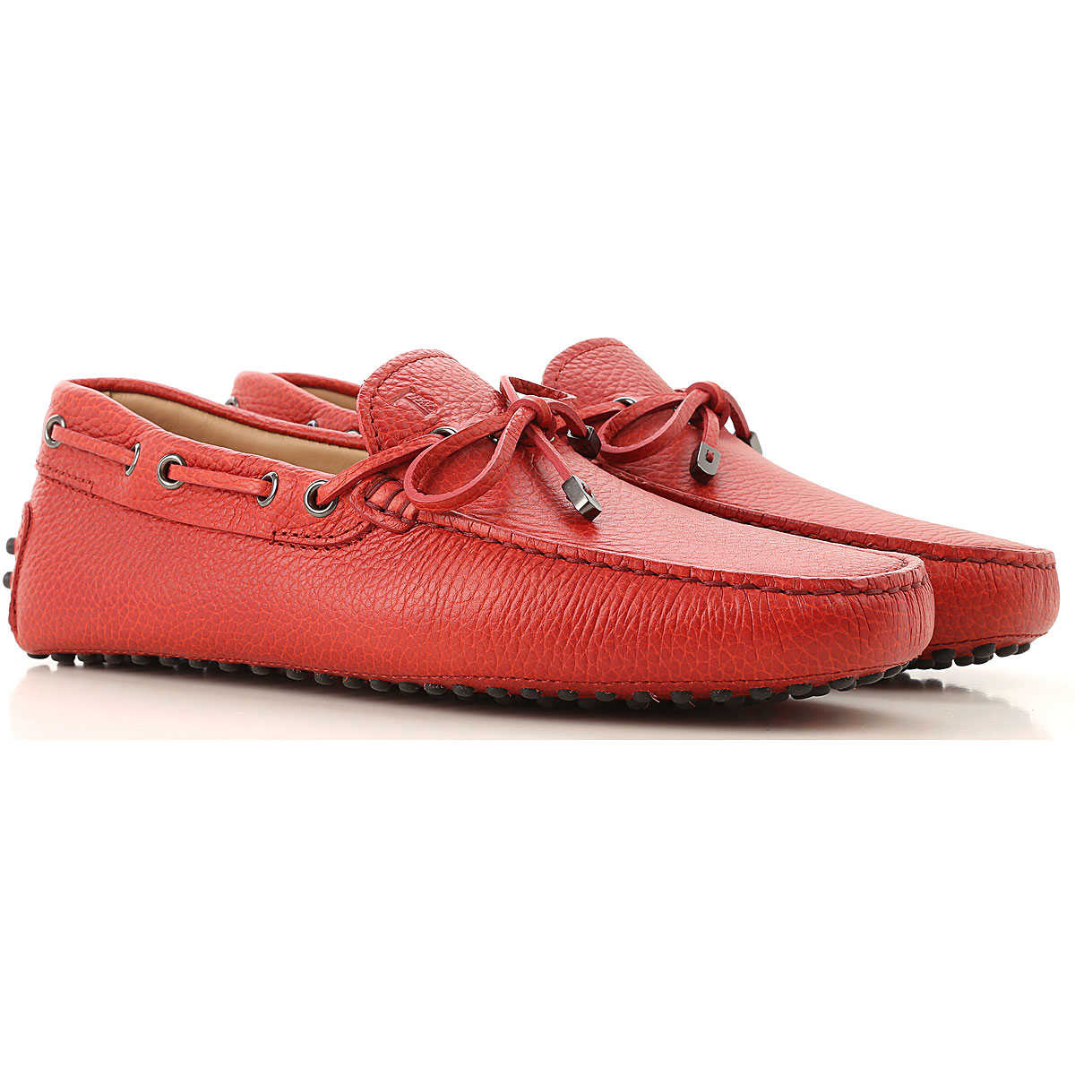 Tods Loafers for Men Red USA - GOOFASH