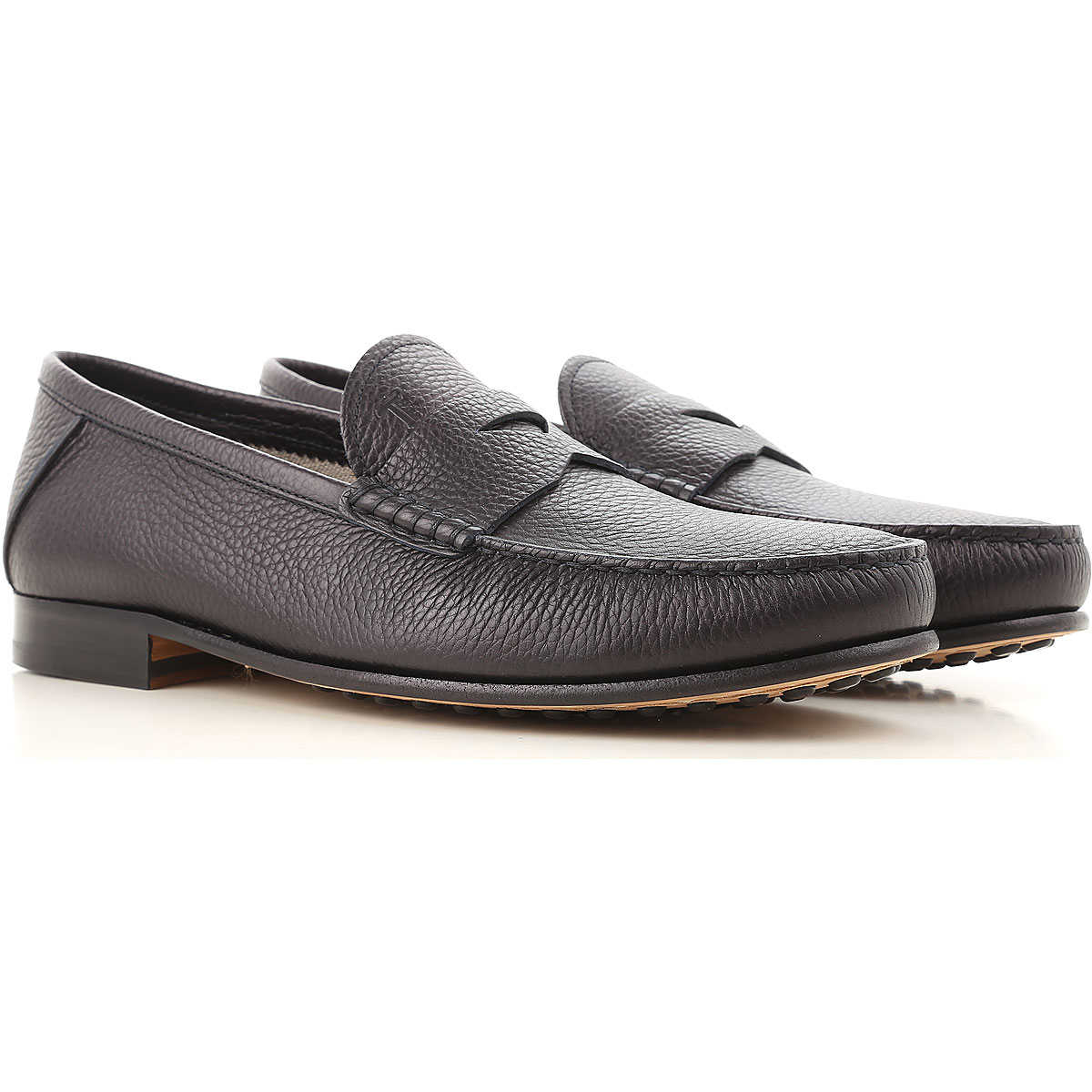 Tods Loafers for Men in Outlet Black USA - GOOFASH