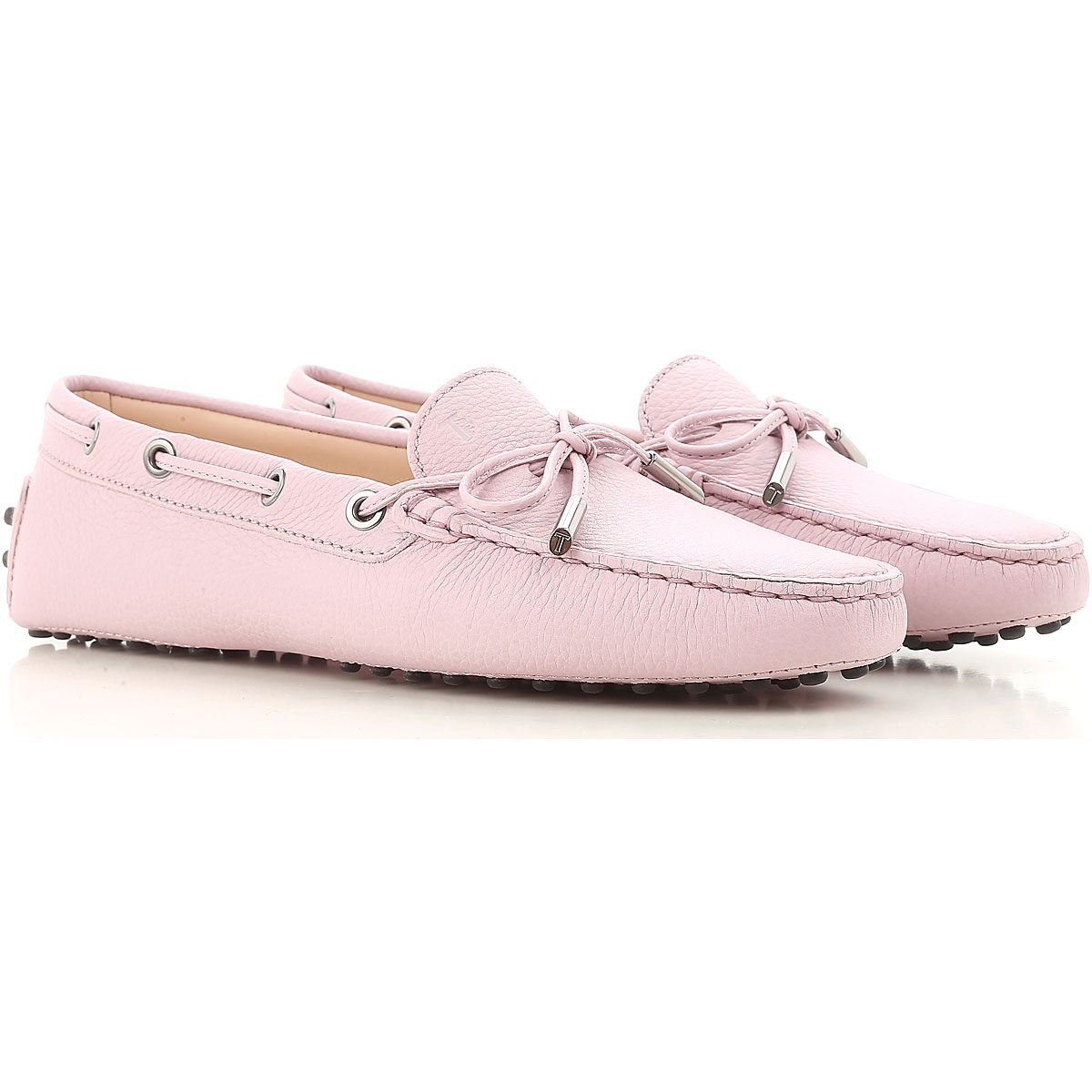 Tods Loafers for Women Mauve USA - GOOFASH