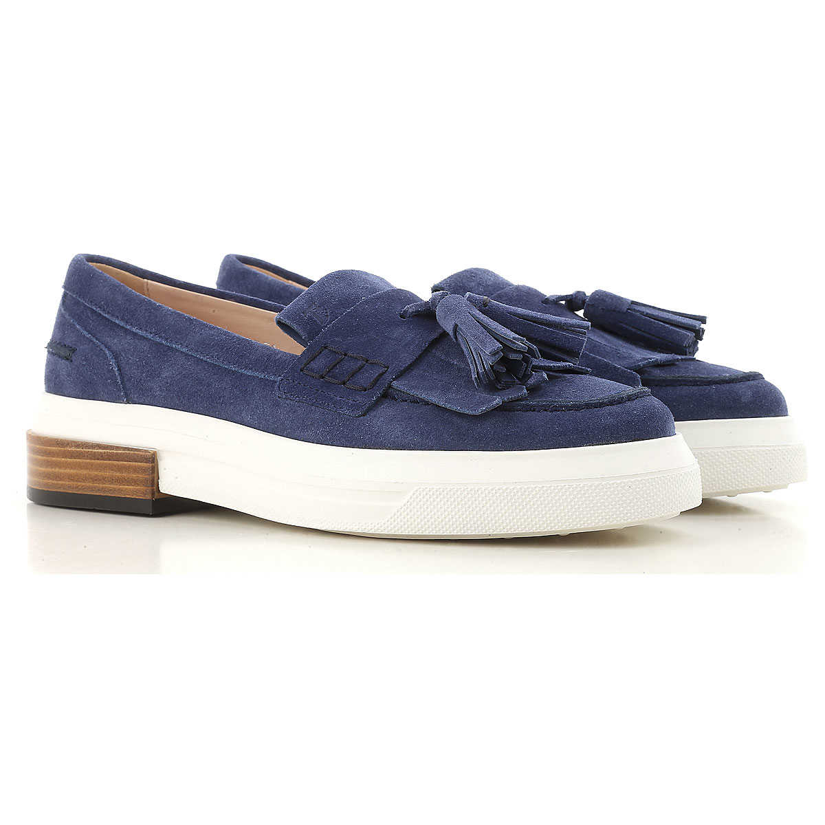 Tods Loafers for Women On Sale Cobalt SE - GOOFASH