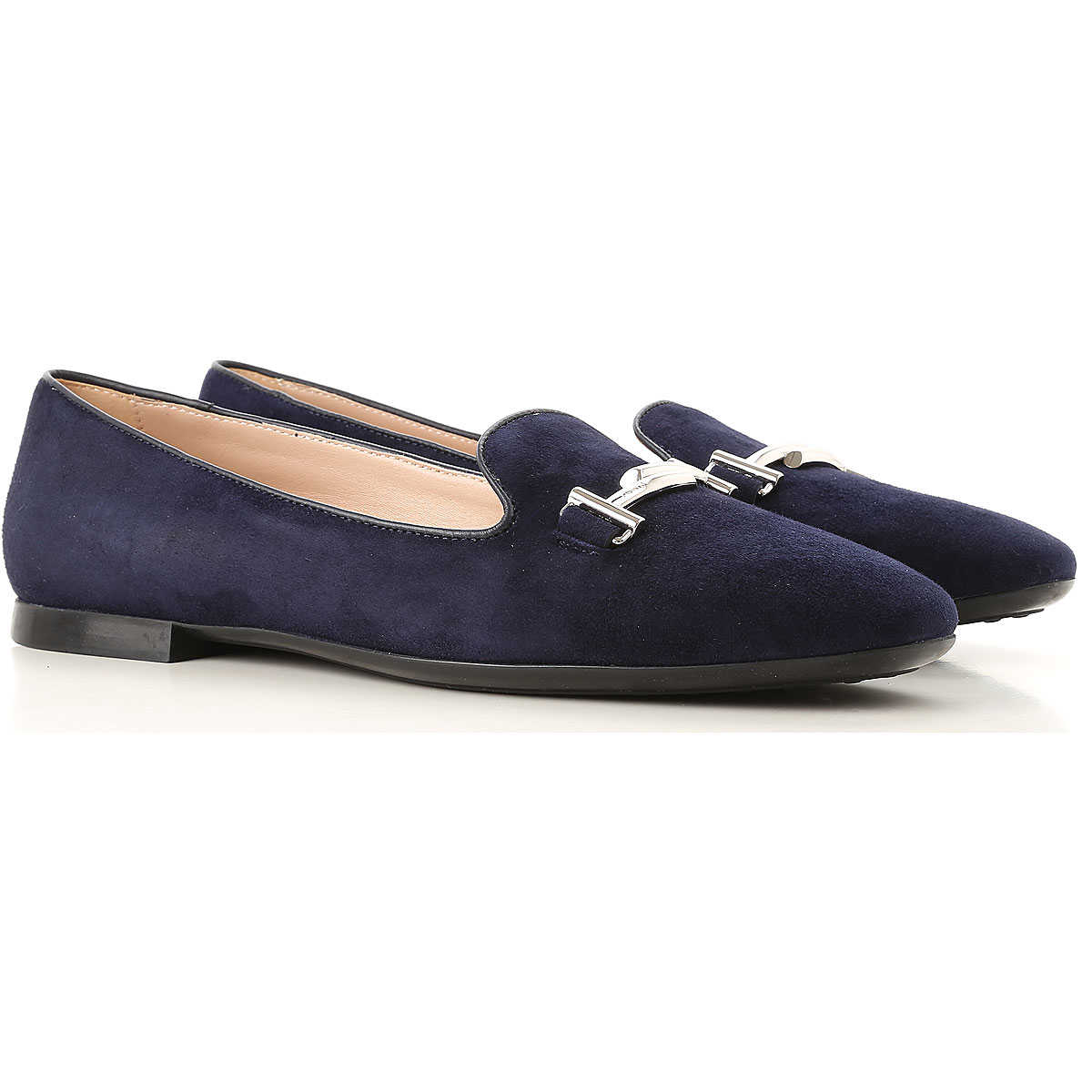 Tods Loafers for Women On Sale galaxy blue SE - GOOFASH