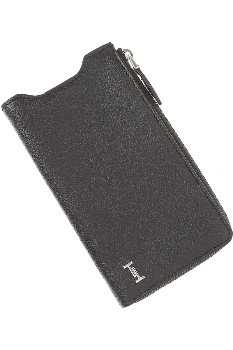 Tods Mens Wallets Black USA - GOOFASH