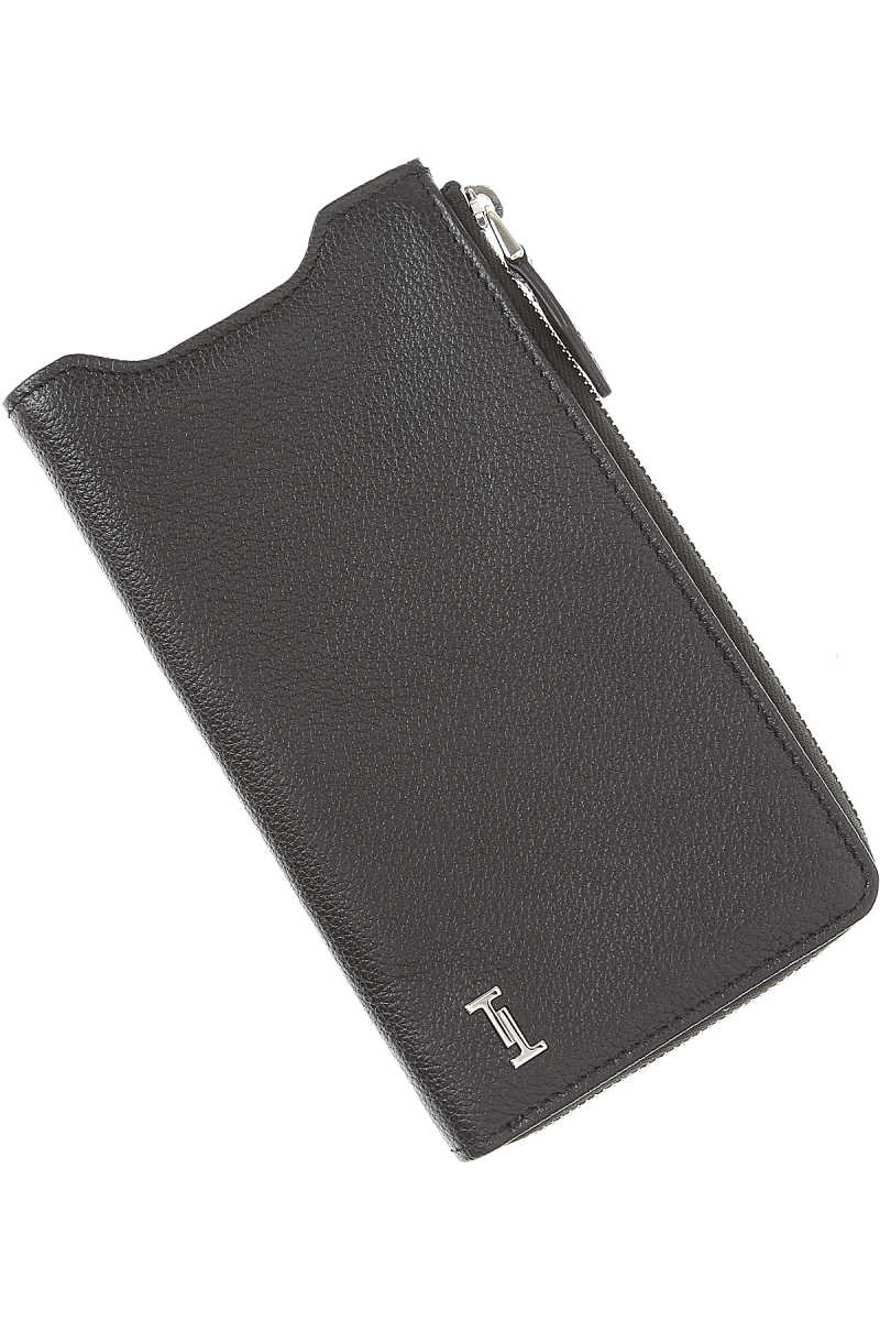 Tods Mens Wallets On Sale Black SE - GOOFASH