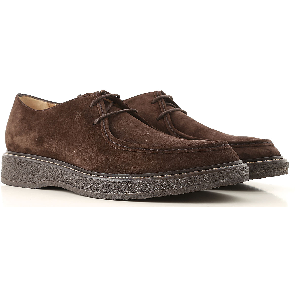 Tods Oxford Shoes for Men On Sale in Outlet Brown SE - GOOFASH