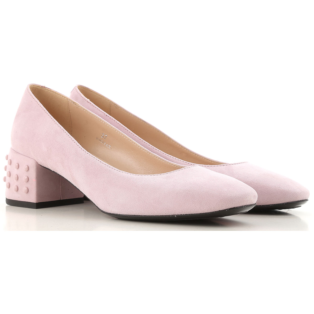 Tods Pumps & High Heels for Women Powder Pink USA - GOOFASH
