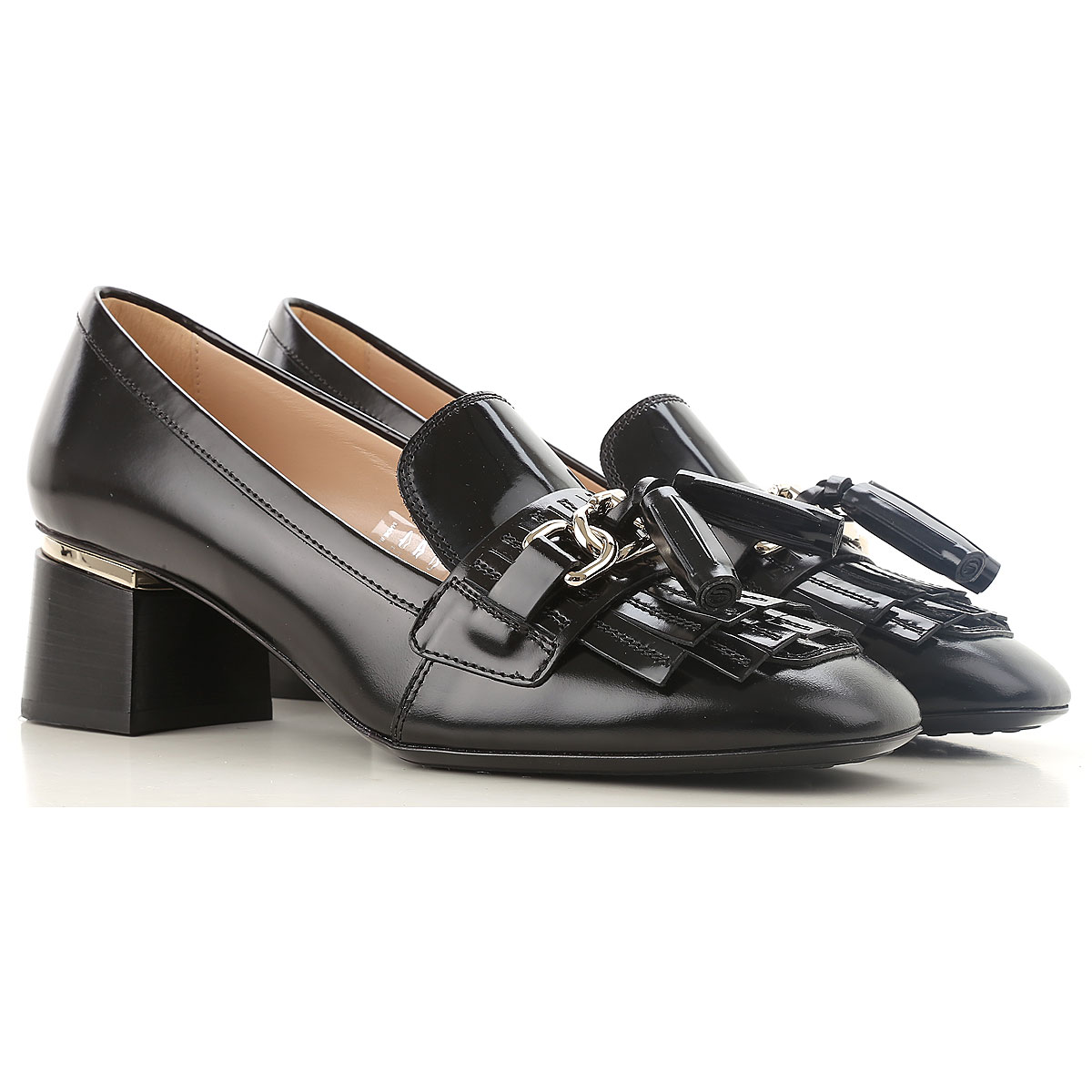 Tods Pumps & High Heels for Women in Outlet Black USA - GOOFASH