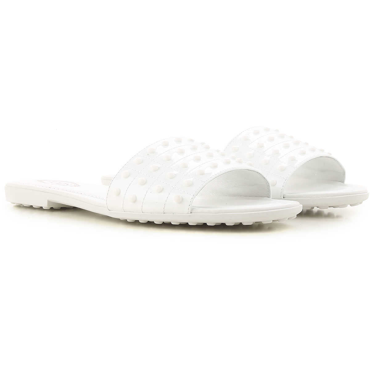 Tods Sandals for Women On Sale White SE - GOOFASH