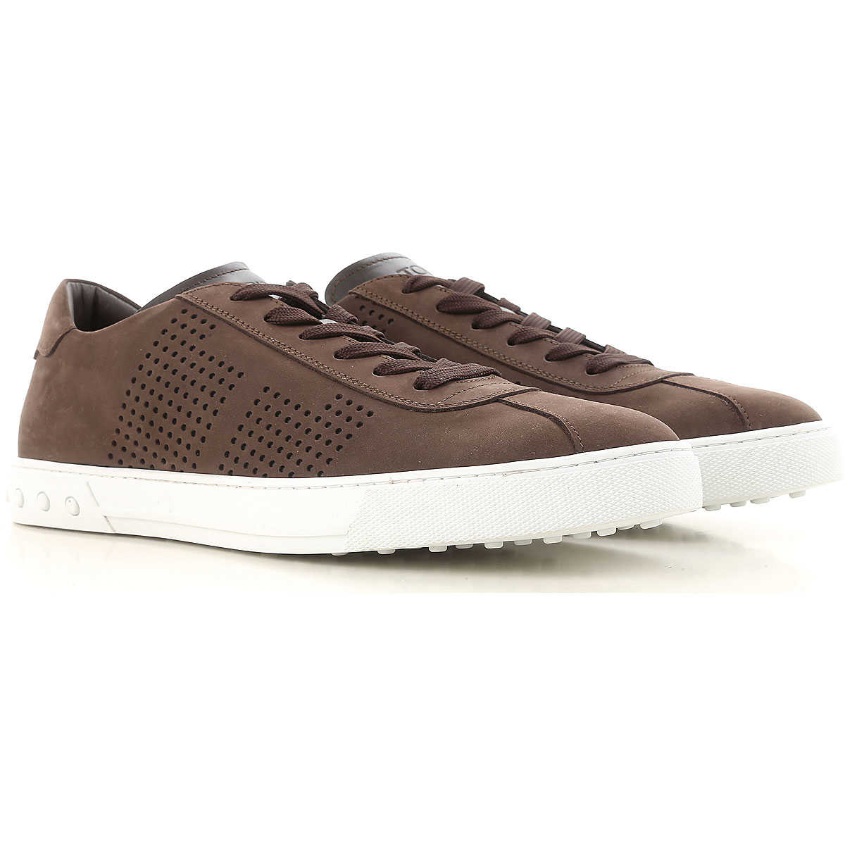Tods Sneakers for Men Brown USA - GOOFASH