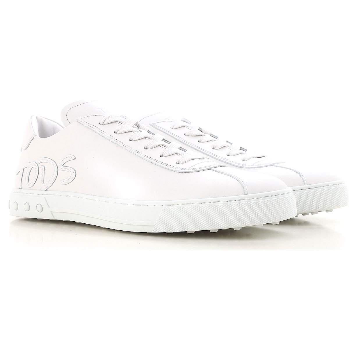 Tods Sneakers for Men On Sale White SE - GOOFASH