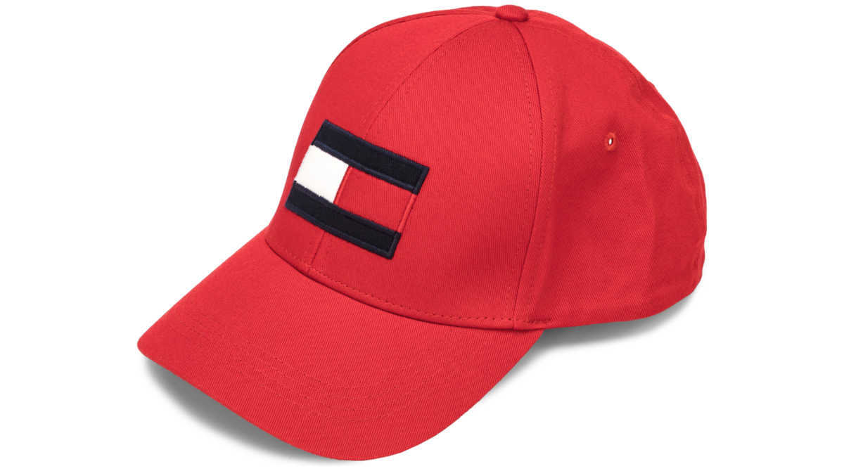 Tommy Hilfiger Cap Red UK - GOOFASH