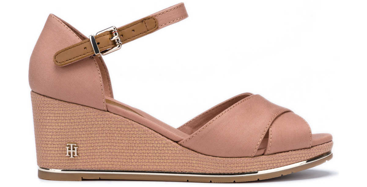 Tommy Hilfiger Wedges Brown Beige UK - GOOFASH