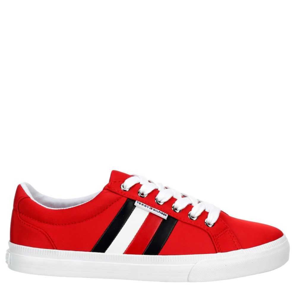 Tommy Hilfiger Womens Lightz Sneakers Red USA - GOOFASH
