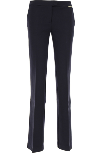 Twin Set by Simona Barbieri Pants for Women Dark Midnight Blue USA - GOOFASH