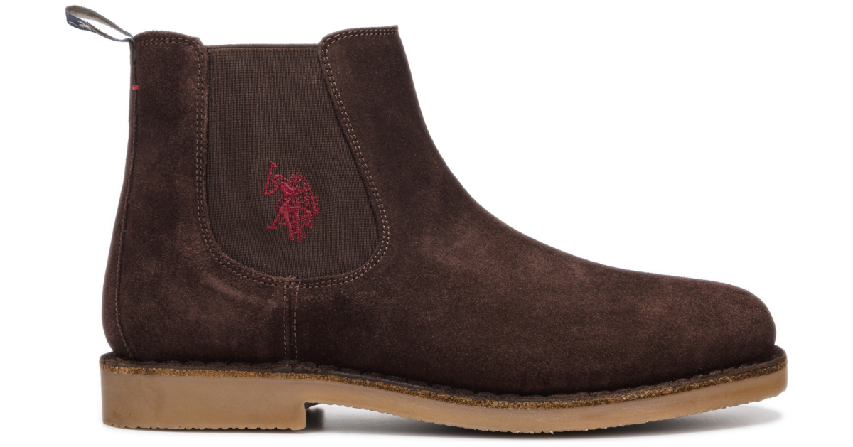 U.S. Polo Assn Faust7 Ankle boots Brown UK - GOOFASH