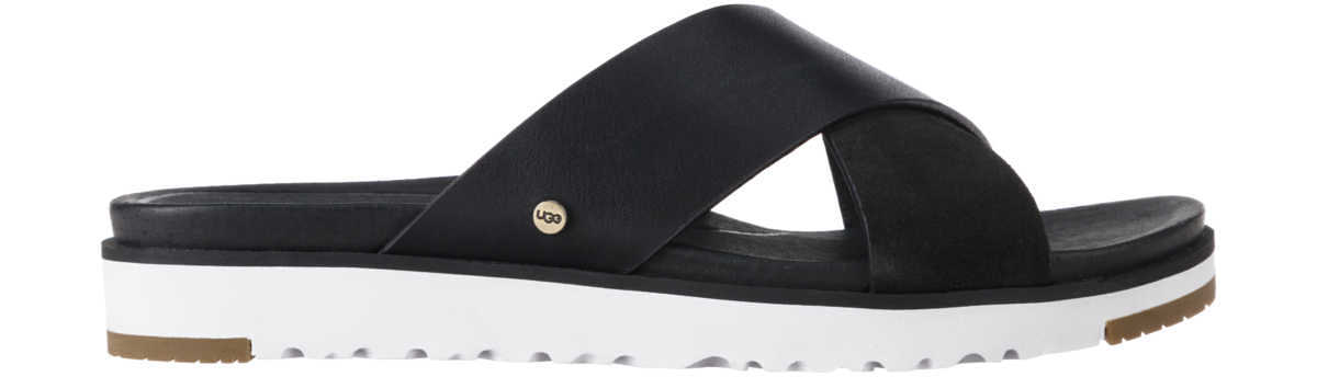 UGG Kari Slippers Black UK - GOOFASH