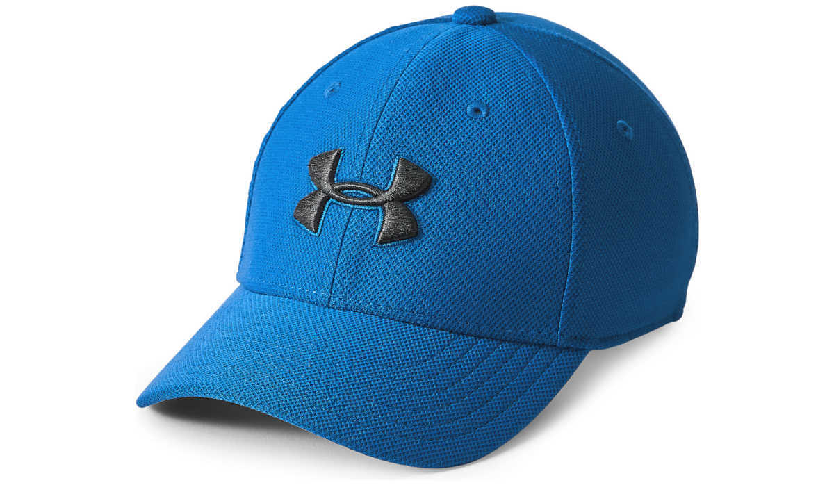 Under Armour Blitzing 3.0 Kids cap Blue UK - GOOFASH
