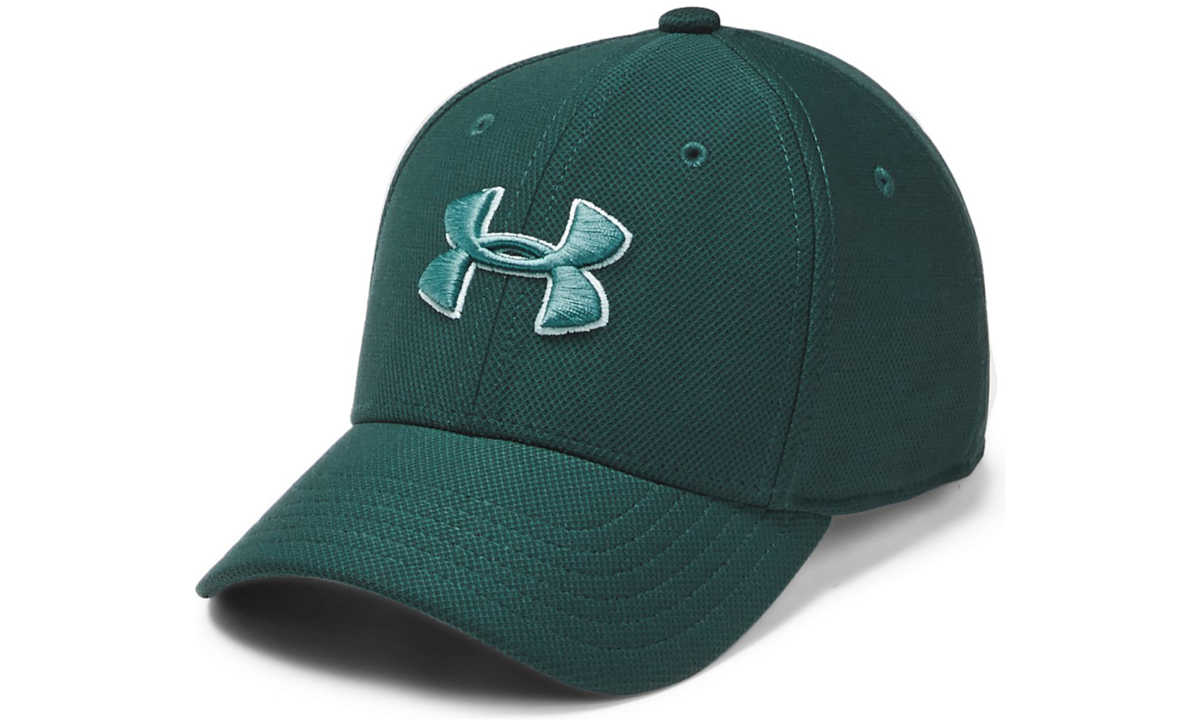 Under Armour Blitzing 3.0 Kids cap Green UK - GOOFASH