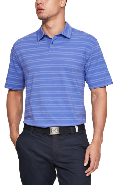Under Armour Charged Cotton® Scramble Polo shirt Blue UK - GOOFASH