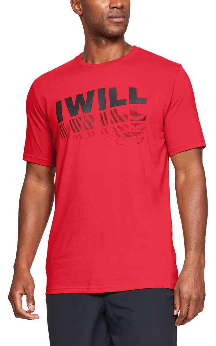 Under Armour I Will 2.0 T-shirt Red UK - GOOFASH