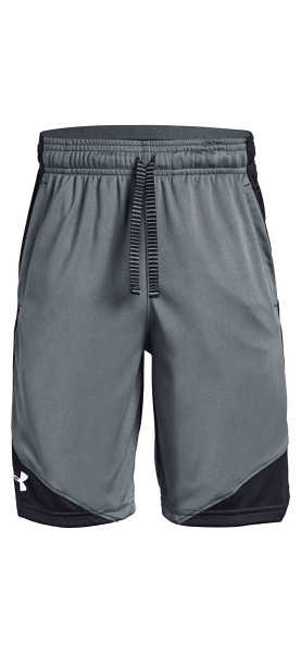 Under Armour Stunt 2.0 Kids Shorts Grey UK - GOOFASH