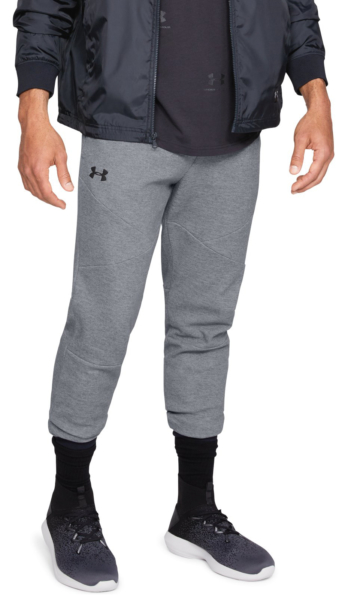 Under Armour Unstoppable Double Knit Tracksuit Grey UK - GOOFASH