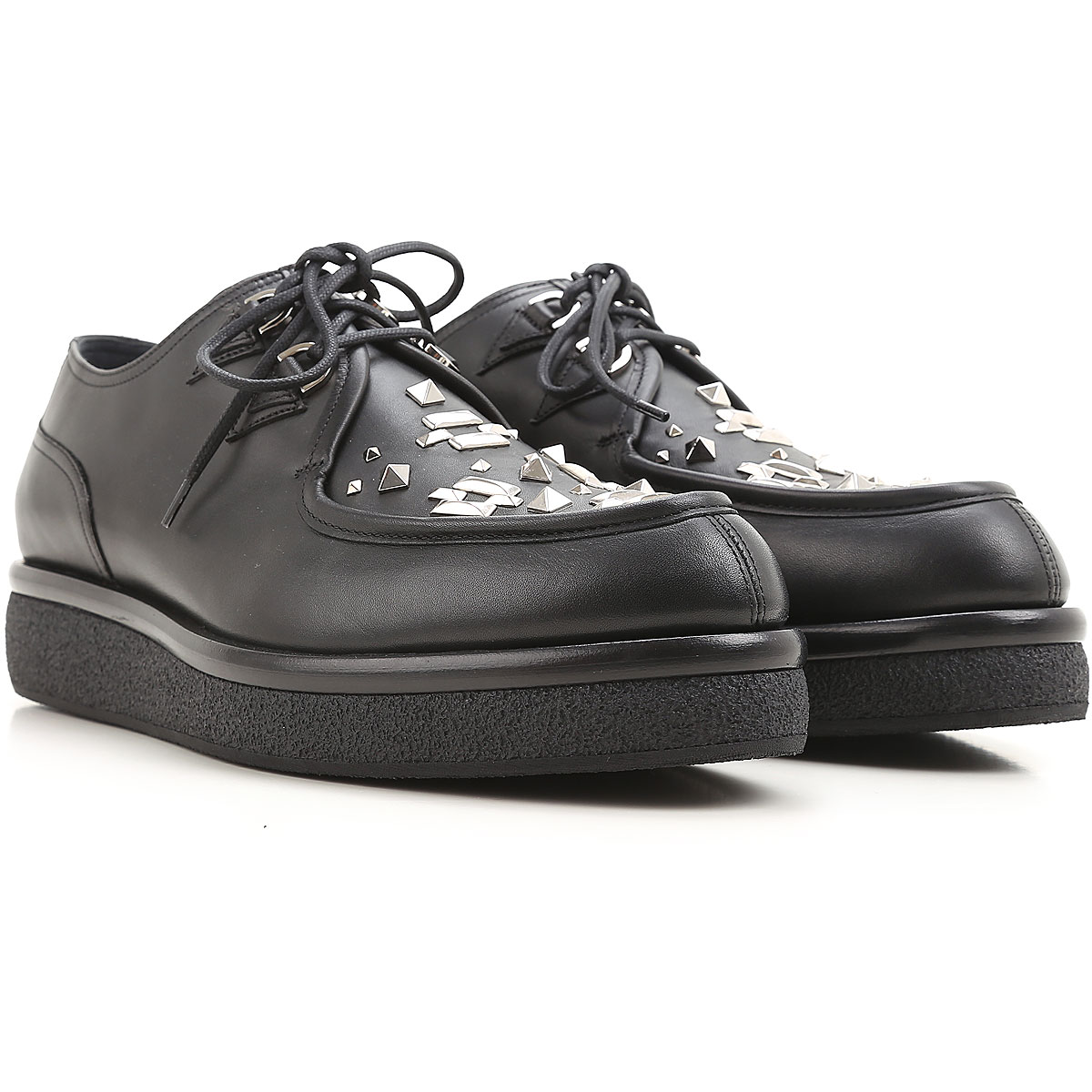 Valentino Garavani Lace Up Shoes for Men Oxfords Derbies and Brogues On Sale in Outlet USA - GOOFASH