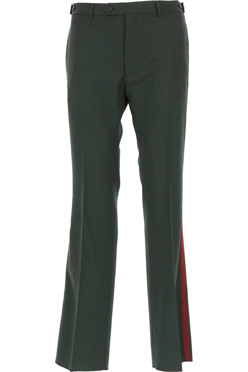 Valentino Pants for Men in Outlet Dark Green USA - GOOFASH