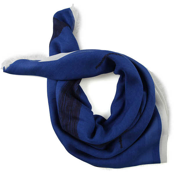 Valentino Scarf for Men in Outlet Blue USA - GOOFASH