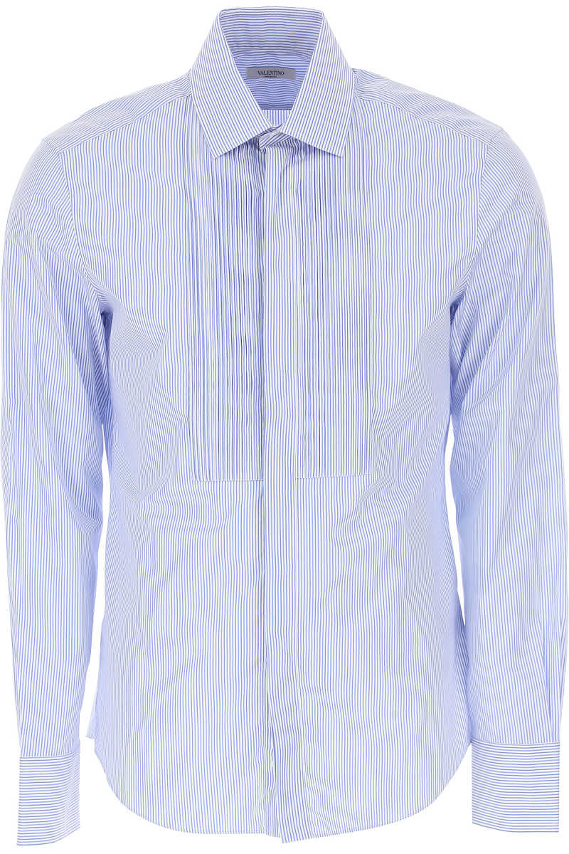 Valentino Shirt for Men On Sale in Outlet Light Blue SE - GOOFASH