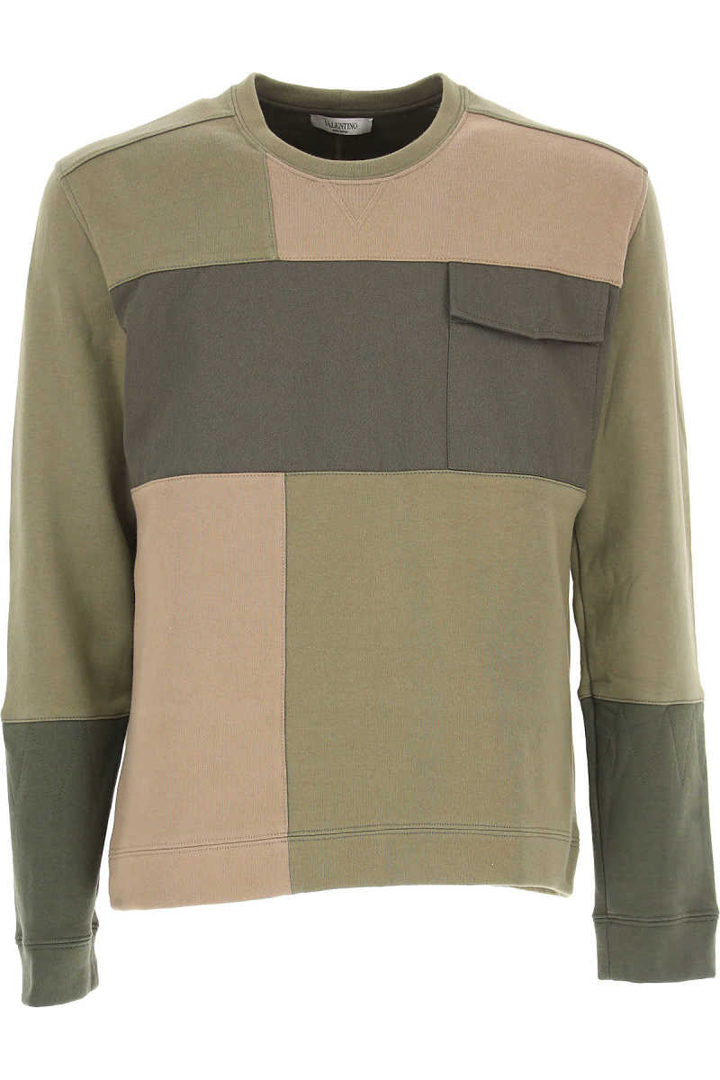 Valentino Sweatshirt for Men in Outlet Military Green USA - GOOFASH