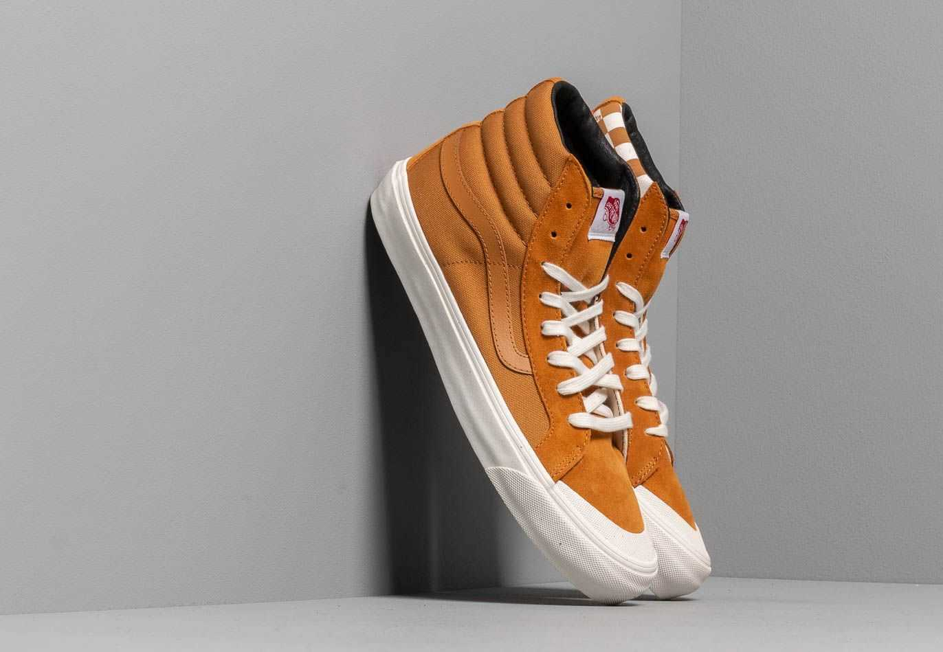Vans OG Style 138 LX (Suede/ Canvas) Buckthorn UK - GOOFASH