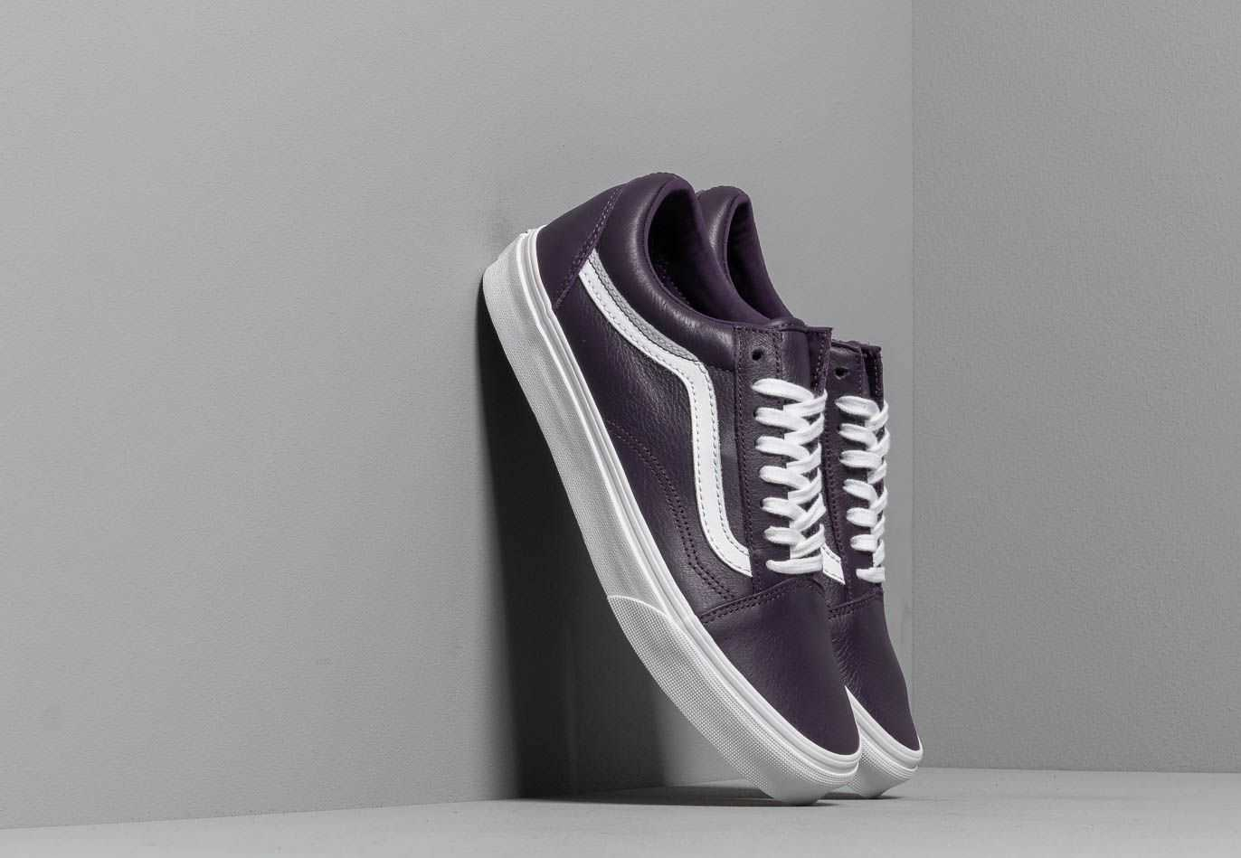 Vans Old Skool (Leather) Mysterioso/ True UK - GOOFASH
