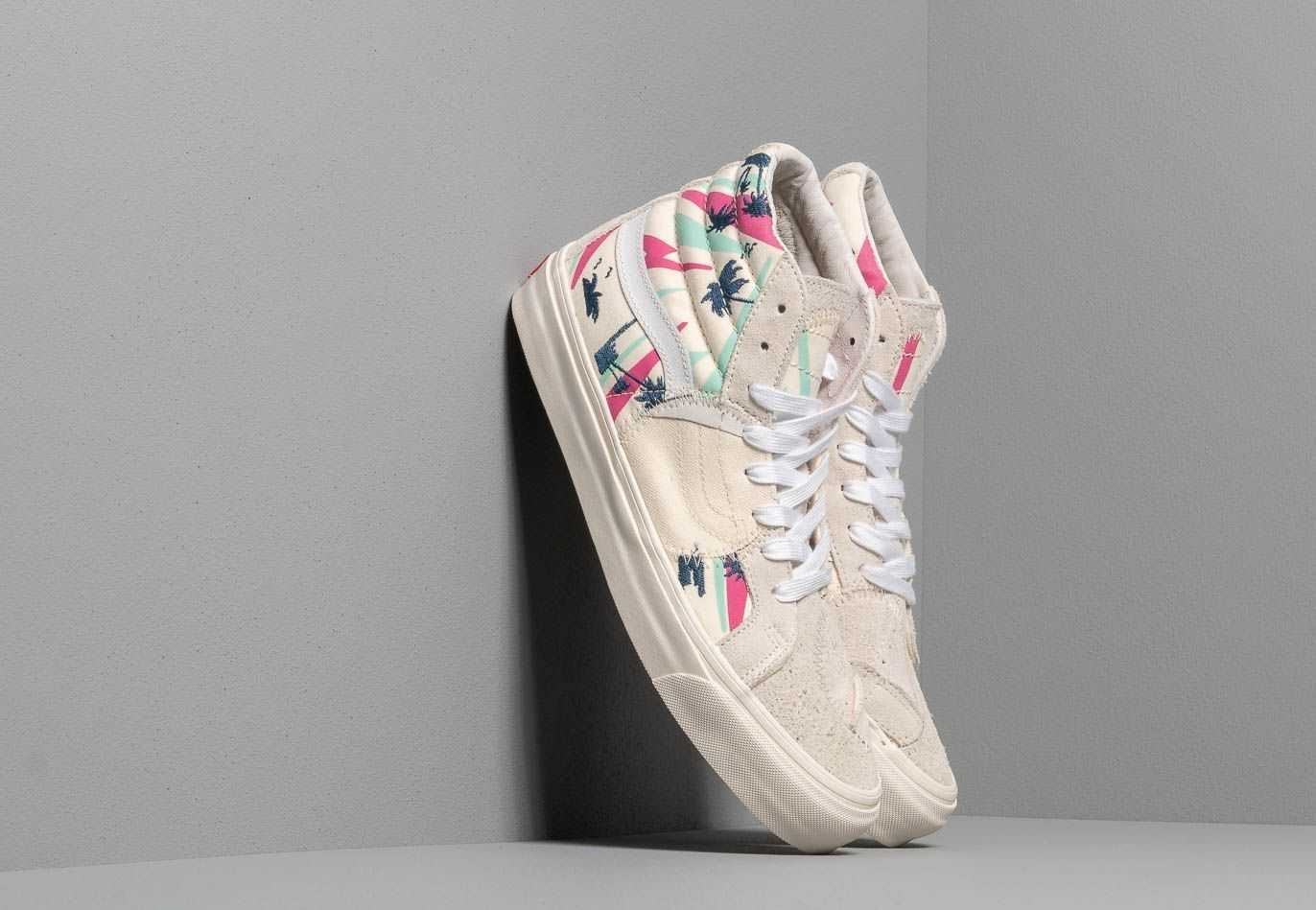 Vans SK8-Hi Bricolage LX (Embroidered Palm) Classic UK - GOOFASH