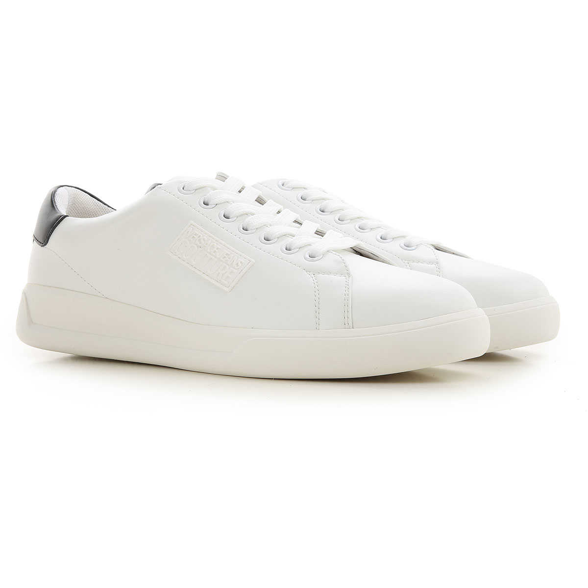 Versace Jeans Couture Sneakers for Men White SE - GOOFASH