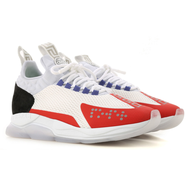 Versace Sneakers for Men On Sale White SE - GOOFASH