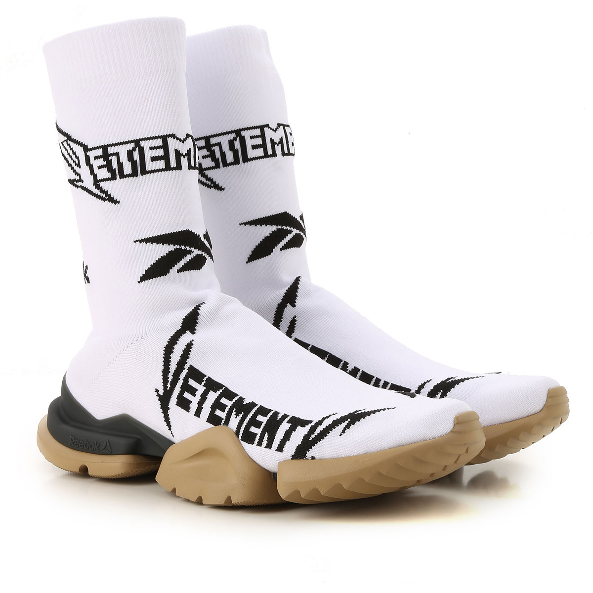 Vetements Sneakers for Men in Outlet White USA - GOOFASH