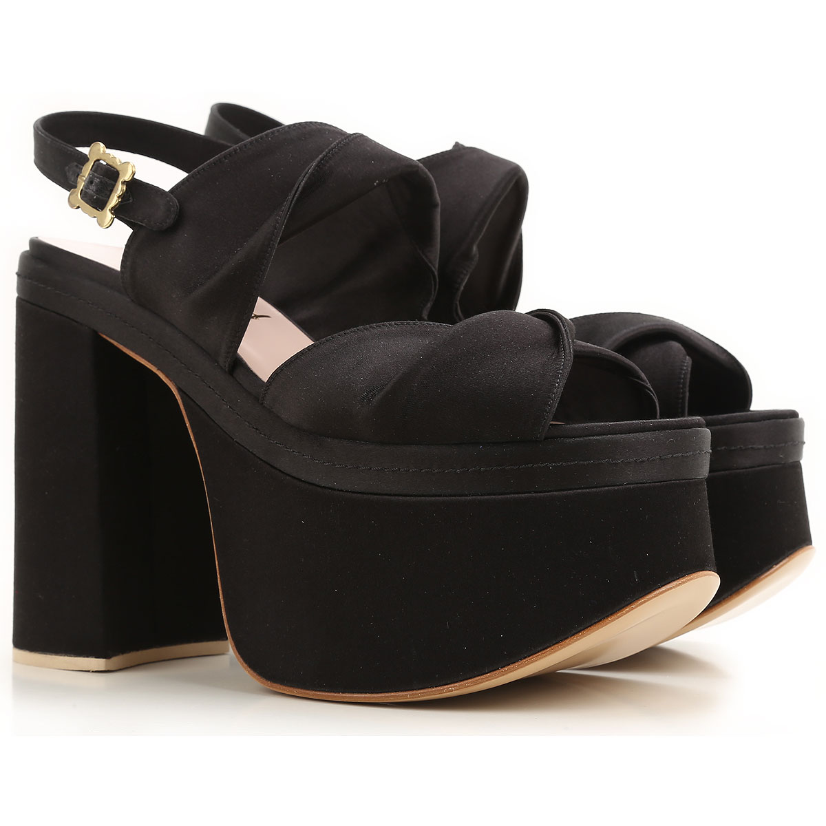 Vivienne Westwood Wedges for Women On Sale Black SE - GOOFASH