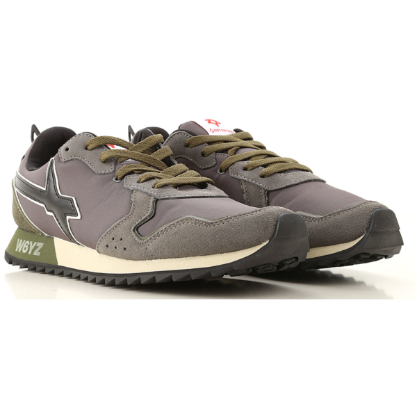 W6YZ Sneakers for Men Anthracite USA - GOOFASH