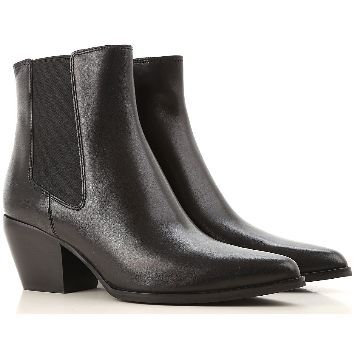 What For Chelsea Boots for Women Black USA - GOOFASH